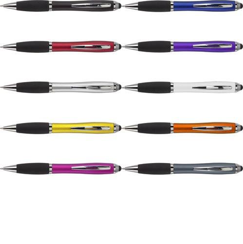 """2430 Kugelschreiber """"Bristol"""" mit Touch-Pen & gummierter Griffzone"""