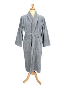 L-AR025 Bathrobe Shawl Collar
