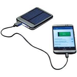 Mac-23559 Solar Powerbank aus Metall mit 4000 mAh
