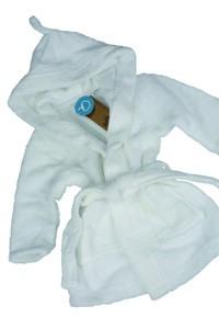 L-AR822 Babybademantel mit Kapuze