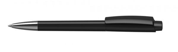 Kugelschreiber Zeno high gloss Mn schwarz