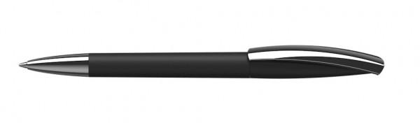 Drehkugelschreiber Arca Mmn softtouch schwarz