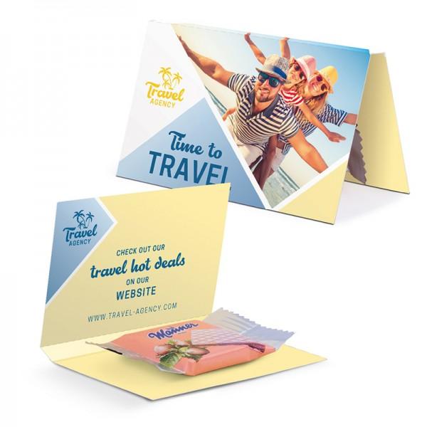 Werbekarte Visitenkartenformat Manner 1er