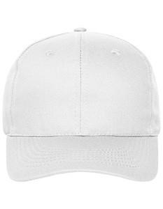 6 Panel Cap Bio Cotton White