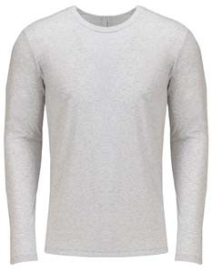 L-NX6071 Men`s Long Sleeve Tri-Blend T-Shirt