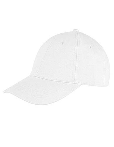 Memphis Brushed Cotton Low Profile Cap_White