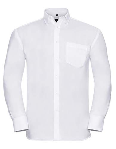 Men`s Long Sleeve Classic Ultimate Non-Iron Shirt_White