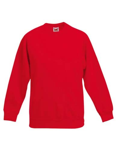 Kids Premium Raglan Sweat_Red