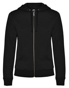 Veleta Woman Sweatjacket Black