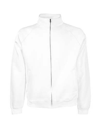 F457 Premium Sweat Jacket_White