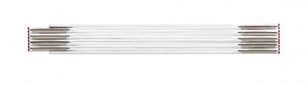 Stabila-617/11 Zollstock Serie 600 weiß/gelb 3m Seitenfläche