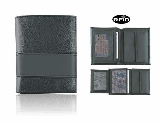 """410-92 Blackmaxx® Brieftasche """"ClassicMaxi"""", schwarz"""