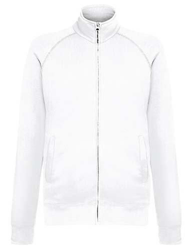 F460 Lightweight Sweat Jacket_White