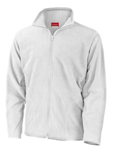 Core Micro Fleece Jacket_White