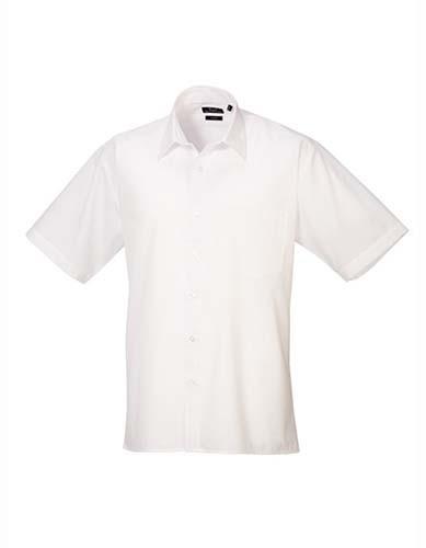 Men´s Poplin Long Sleeve Shirt_White
