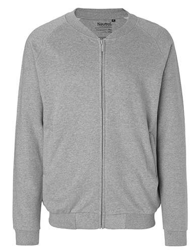 NE73501 Unisex Jacket with Zip_Sports-Grey