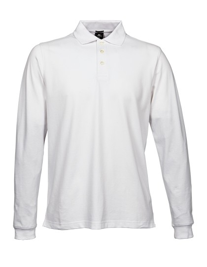 L-TJ1406 Luxury Stretch Long Sleeve Polo