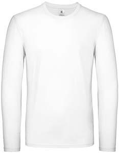BCTU05T T-Shirt Langarm Rundhals Nackenband