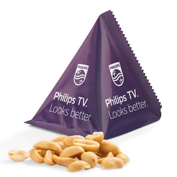 Snack Tetraeder, Erdnüsse