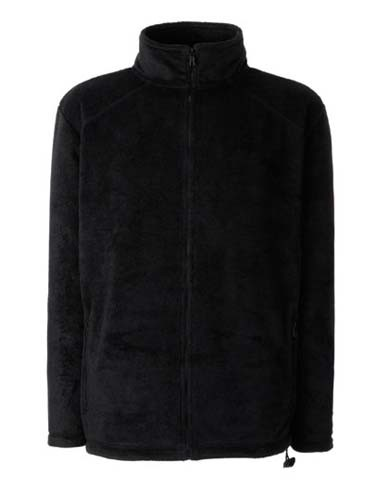 F800 Full Zip Fleece Jacket_Black