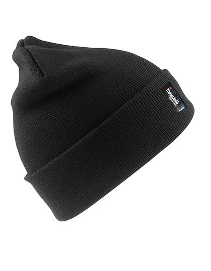 Heavyweight Thinsulate™ Woolly Ski Hat_Black