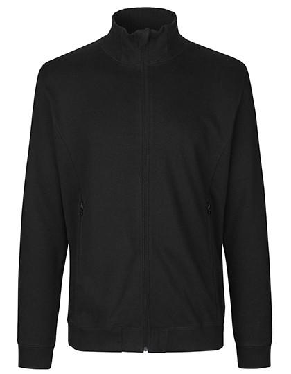 Unisex High Neck Jacket Black