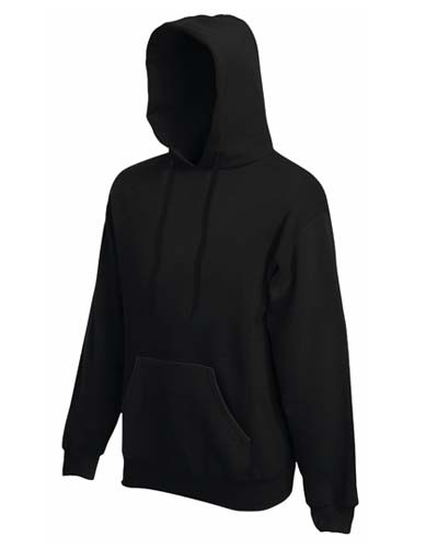 F421N Premium Hooded Sweat_Black