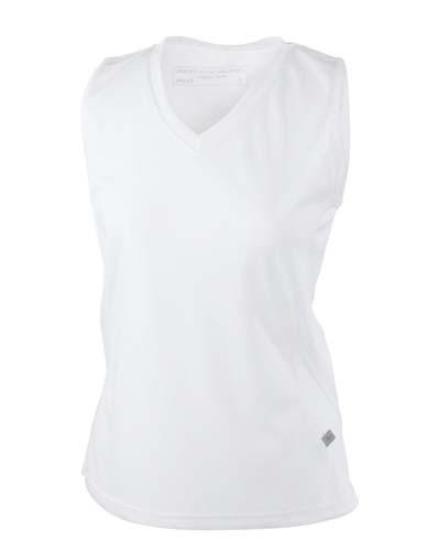 JN315 Damen Lauf T-Shirts-Ärmellos-V-Ausschnitt