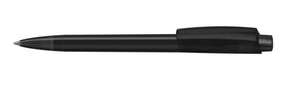 Kugelschreiber Zeno schwarz transparent