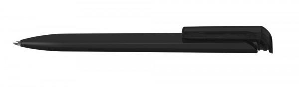 Kugelschreiber Trias high gloss schwarz/schwarz transparent