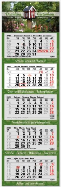 JUNIOR-5 | flatbarer 5-Monats-Kalender