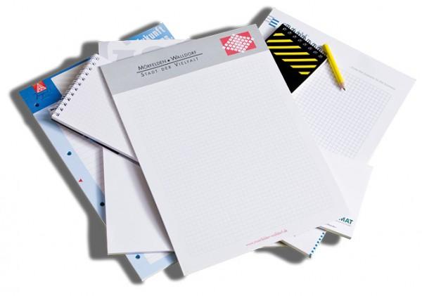 Schreibblöcke | 50 Blatt | DIN A7