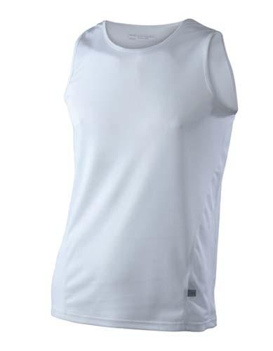 JN305 Männer Lauf T-Shirts-Ärmellos-Rundhals