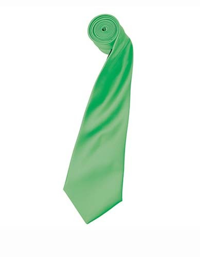 PW750 Colours Collection Satin Tie_Apple