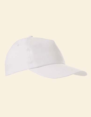 Baumwollcap_White