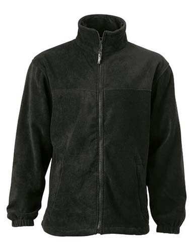 JN044 Full-Zip Fleece_Black