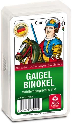 Gaigel/Binokel Karten | württembergisches Bild