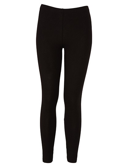 Women`s Cotton Stretch Legging_Black