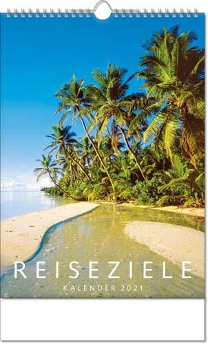 Bildkalender deutsch REISEZIELE mit Wire-O