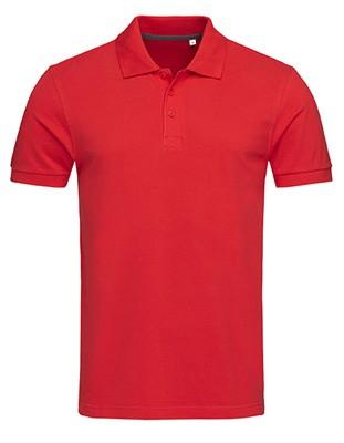 Harper Polo Crimson-Red