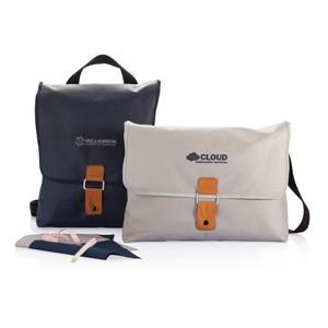 Canvas Laptop-Tasche, PVC-frei