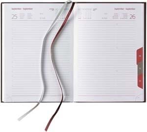 "LEB-864 Tucson Buchkalender ""CLASSIC LINE"" | Registerstanzung"