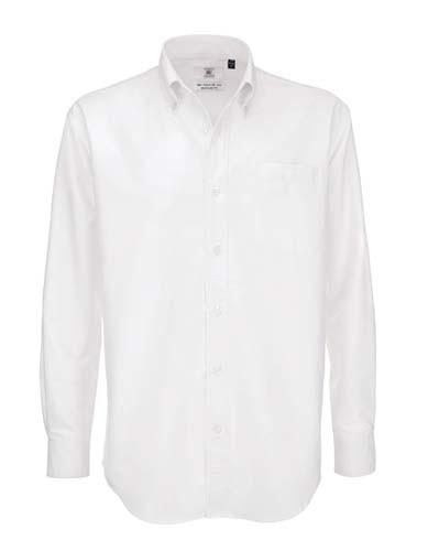 Shirt Oxford Long Sleeve /Men_White
