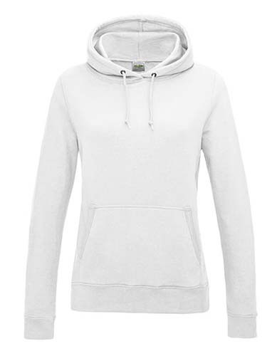 JH001F Girlie College Hoodie_Arctic-White