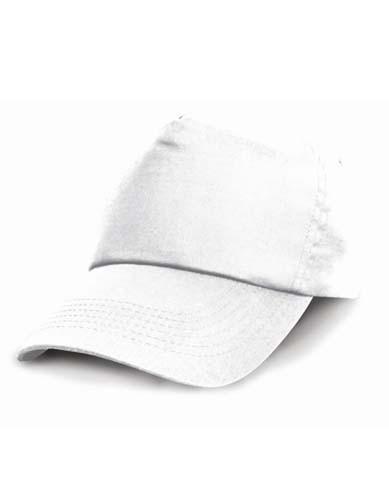 RH05J Junior Cotton Cap_White