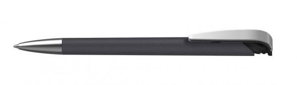 Kugelschreiber Jona softgrip/ice Mms schwarz ice