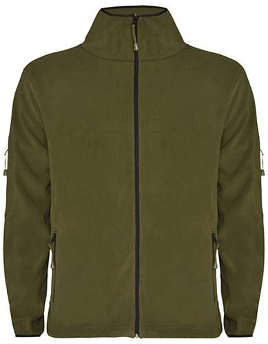 Luciane Microfleece Jacket_Army-Green
