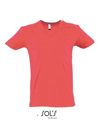 Short Sleeve Tee Shirt Coral