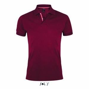 L-L589 Men`s Polo Shirt Patriot