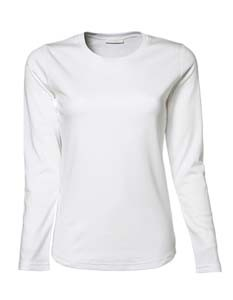 L-TJ590 Ladies` Long Sleeve Interlock Tee